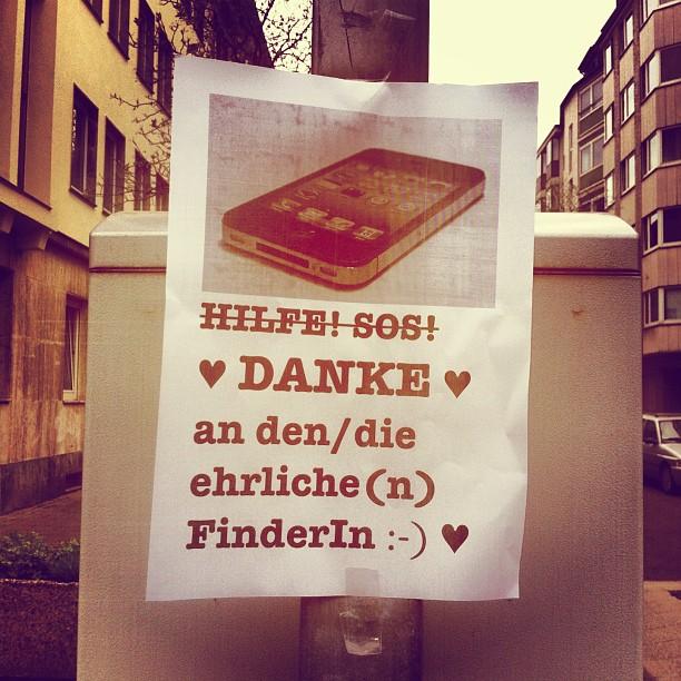 Es gibt super nette NachbarInnen :-)