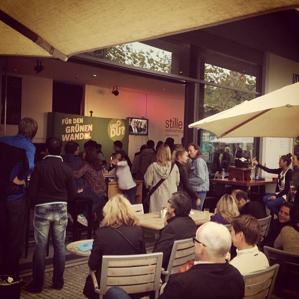 Wahlabend bei den GRÜNEN NRW im KIT #btw13