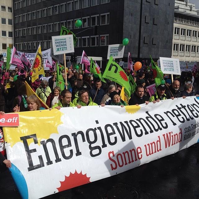 Energiewende retten! Mal wieder zusammen auf die Straße gehen :-)