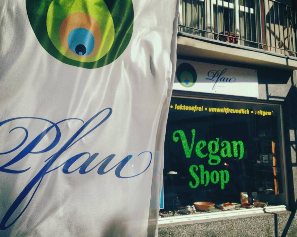 """Existenzgründung : """"Pfau"""" Vegan Shop in Düsseldorf zu verkaufen."""