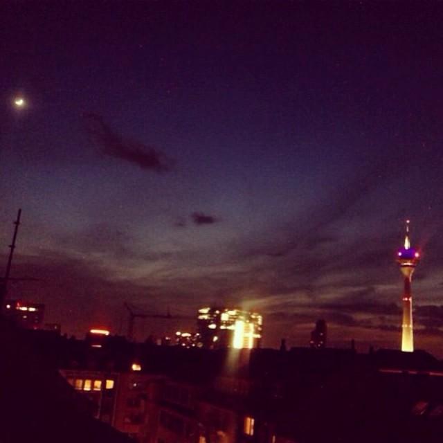 Die Nacht bricht an...
