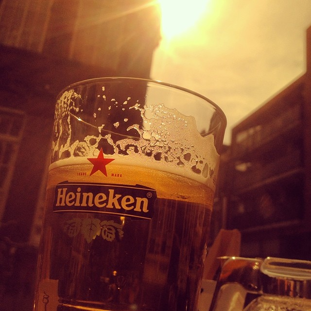 Kraken gaat door - Sundowner in Amsterdam :-)