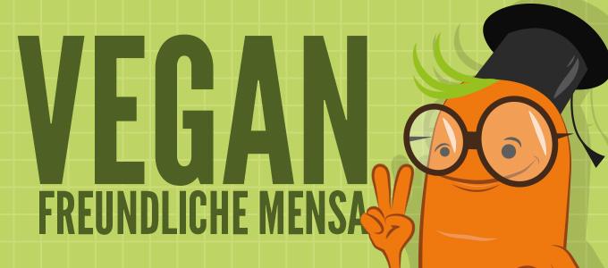 Vegan-freundliche Mensa – PETA prämiert die Mensa an der HHUD
