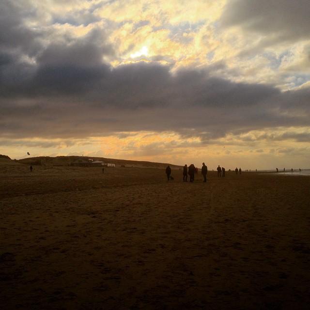 Einfach mal so am Strand lang laufen …