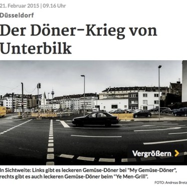 """Laut RP gibt es einen """"Döner-Krieg"""" in Unterbilk. Ernsthaft, jetzt?!"""