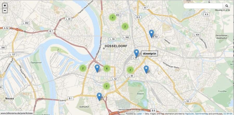 Düsseldorf kanns auch nachhaltig. Eine erste Übersicht.