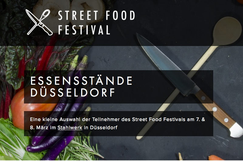Street Food Festival im Stahlwerk – für alle was dabei :-)