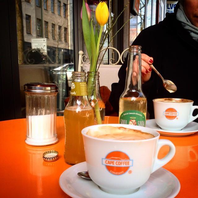 Zu einem ordentlichen Hasenfest gehört auch ein ordentlicher Kaffee ;-)