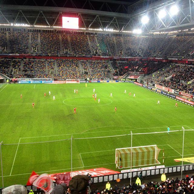 Montagabend im Stadion und die Fortuna anfeuern :-)