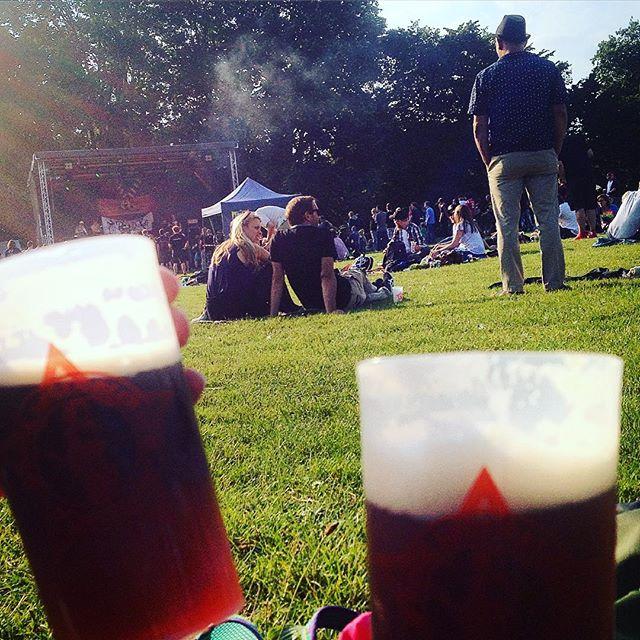 'Rock gegen Rechts' - Festival im Volksgarten... Mehr als nur grillen & chillen :-) Es zeigt sich gerade wieder - Düsseldorf ist bunt und das ist gut so.