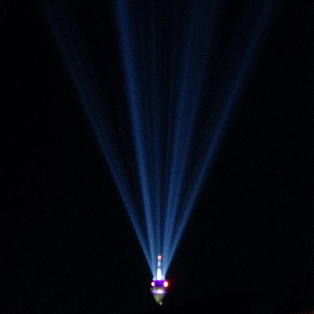 Partystimmung am Nachthimmel ;-)