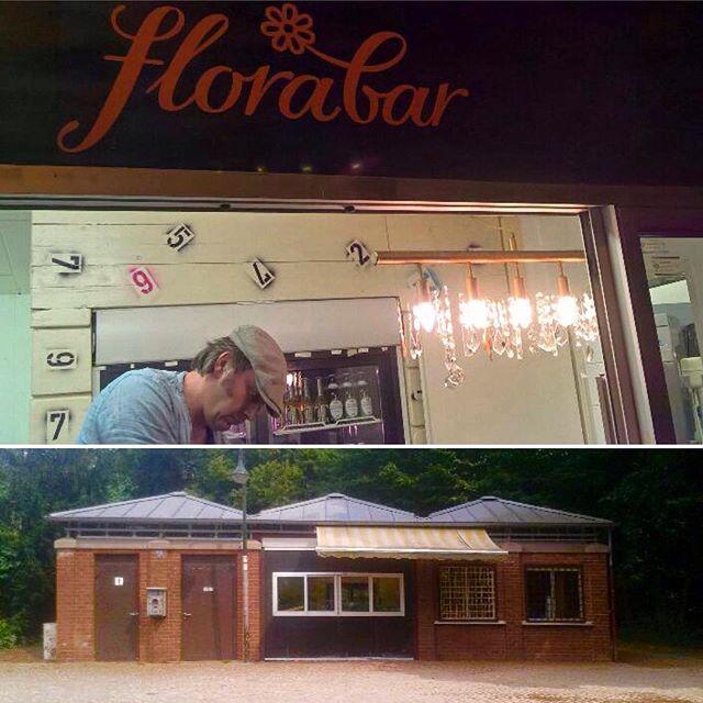 Es gibt ein neues Cafe - quasi die Florabar im Volksgarten :-) Schaut doch mal auf der Emmastraße vorbei...