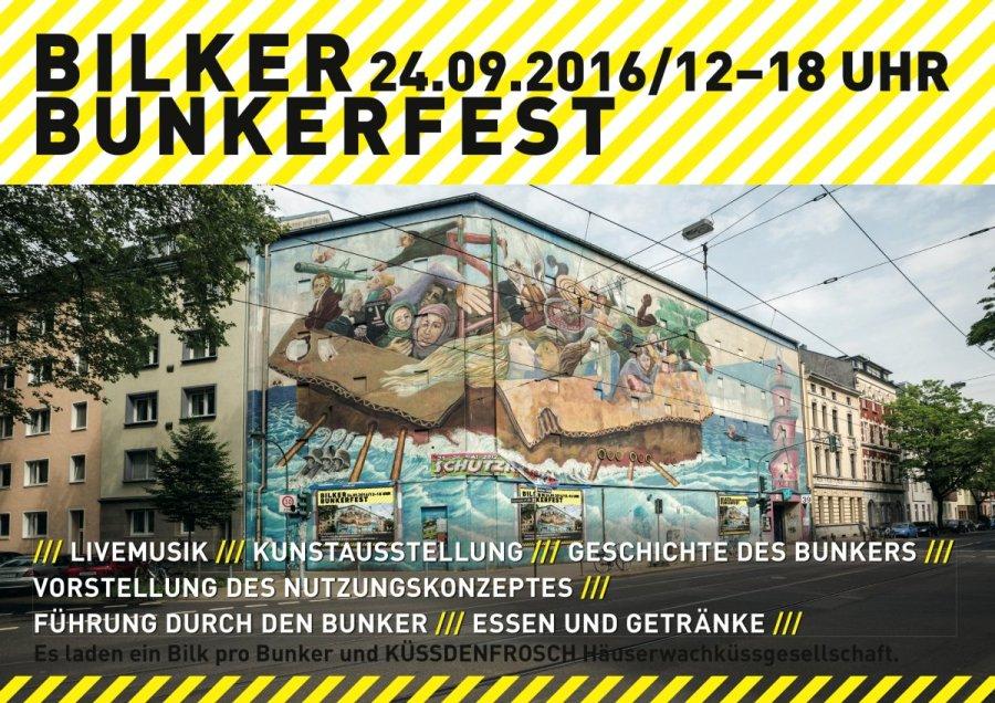 Bunkerfest am Bilker Bunker