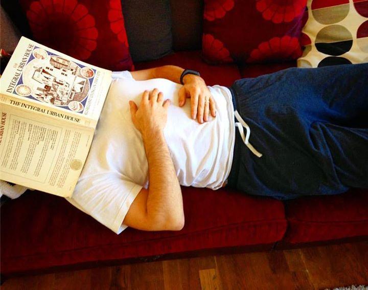 Lesepause am Tag der Jogginghose