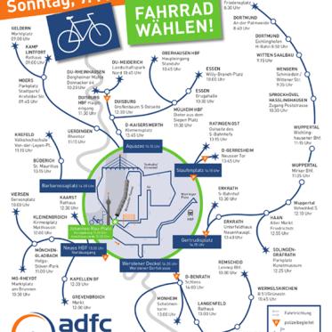 Freuen uns schon auf die ADFC NRW FahrradSternfahrt