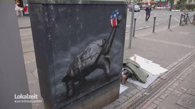 """WDR Beitrag über die """"Kunst auf der Straße"""""""