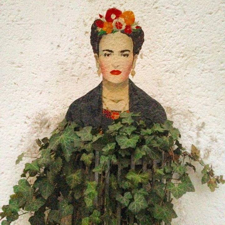 Wir haben eine neue Blumenfrau bei uns im Viertel
