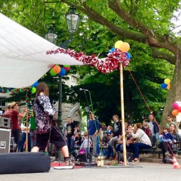 Ein paar Eindrücke vom Sommerfest auf dem Friedensplätzchen