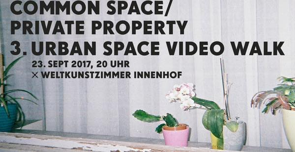Urban Space Video Walk 2017