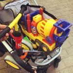 Spielsachen für den LeoStatzSpielplatz