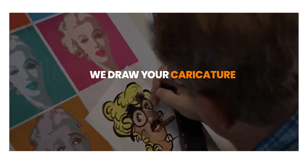 We Draw Your Caricature
