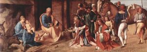 Adoration of the Magi by Giorgione