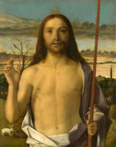 Giovanni Bellini, Christ Blessing, Kimbell Art Museum, Fort Worth, Texas