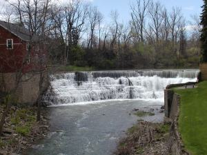 Old weir at Honeoye Falls