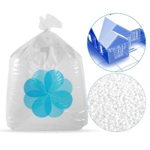 2000 litres de billes de polystyrene recycle pour isolation