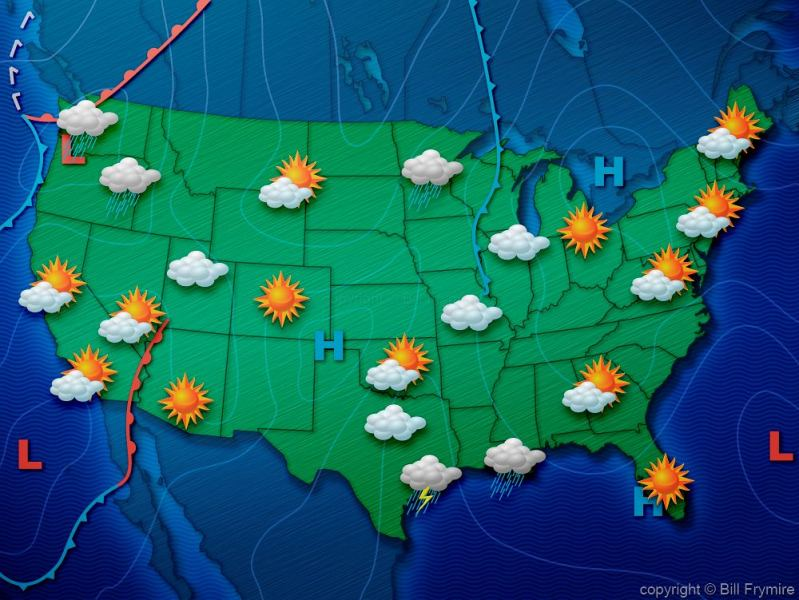 map weather usa today » World Map | Full Maps