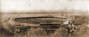 Hanlan's Stadium, Toronto Island, where Babe Ruth was said to have to hit his first professional home run.