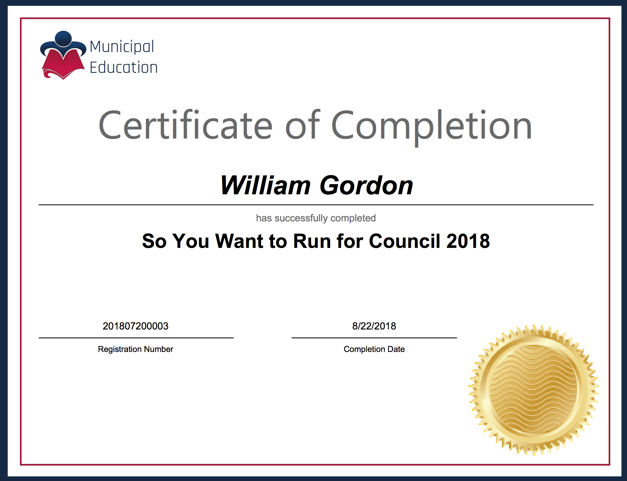So you want to Run for Council – Online Course