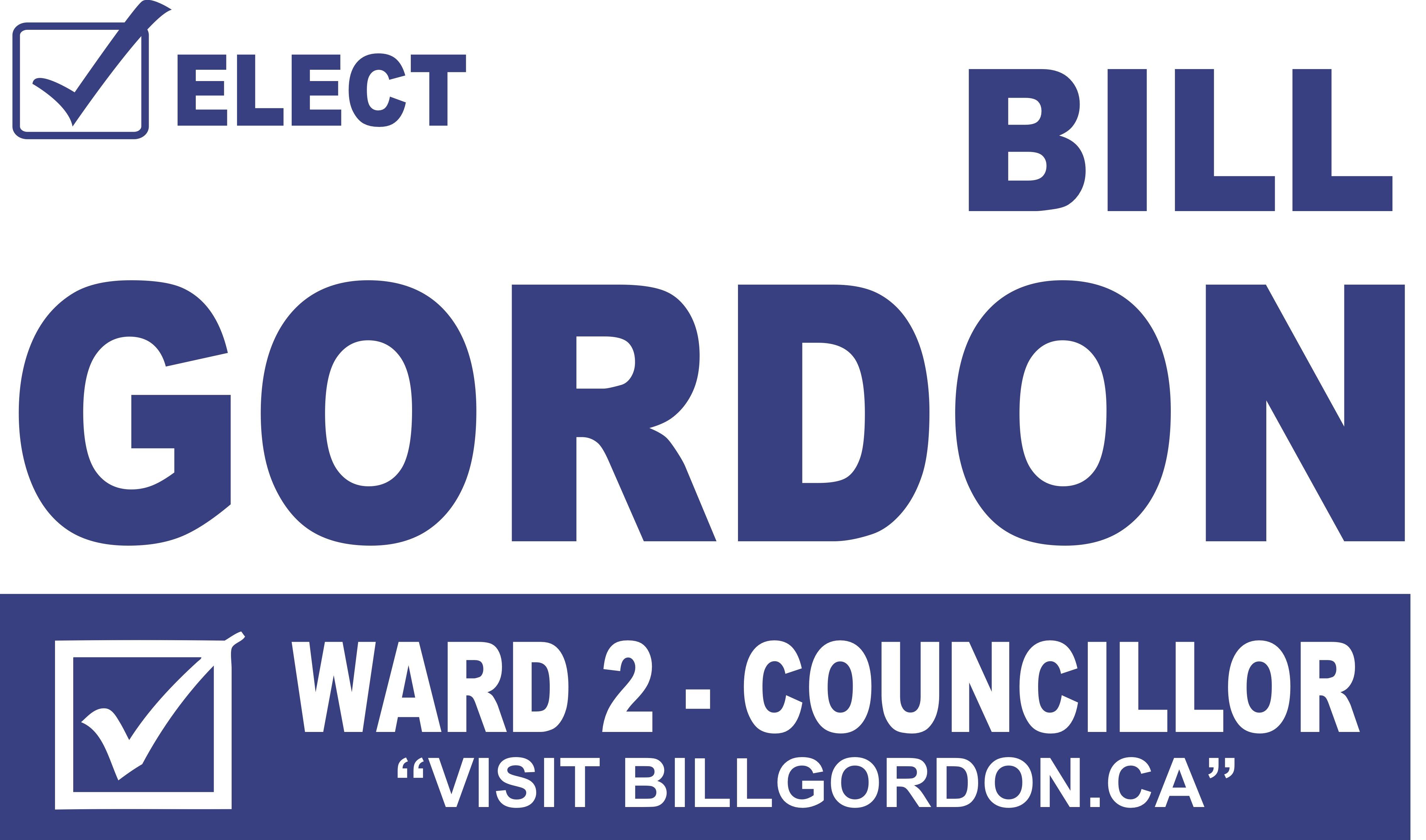 Elect Bill Gordon For Ward 2