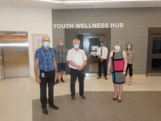 Several Midland council members toured the new Community Health Hub last week. Andrew Philips/MidlandToday