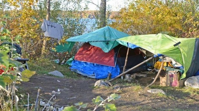 Midland council is establishing an anti-homelessness committee to find an alternative for tent cities. - Andrew Mendler/Torstar