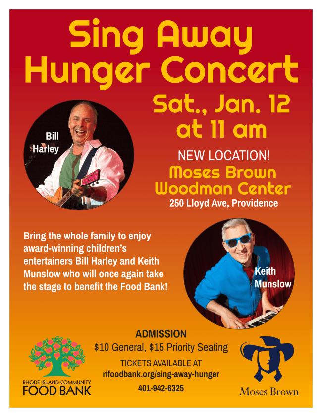 Sing Away Hunger Concert