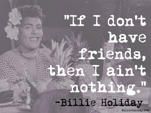 Billlie Holiday Quotes The Official Website Of Billie