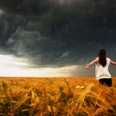 When Life Stands Still In The Storm
