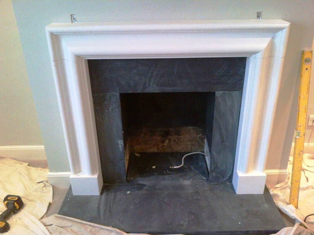 Limestone Bolection Fireplace In Barnes Sw13