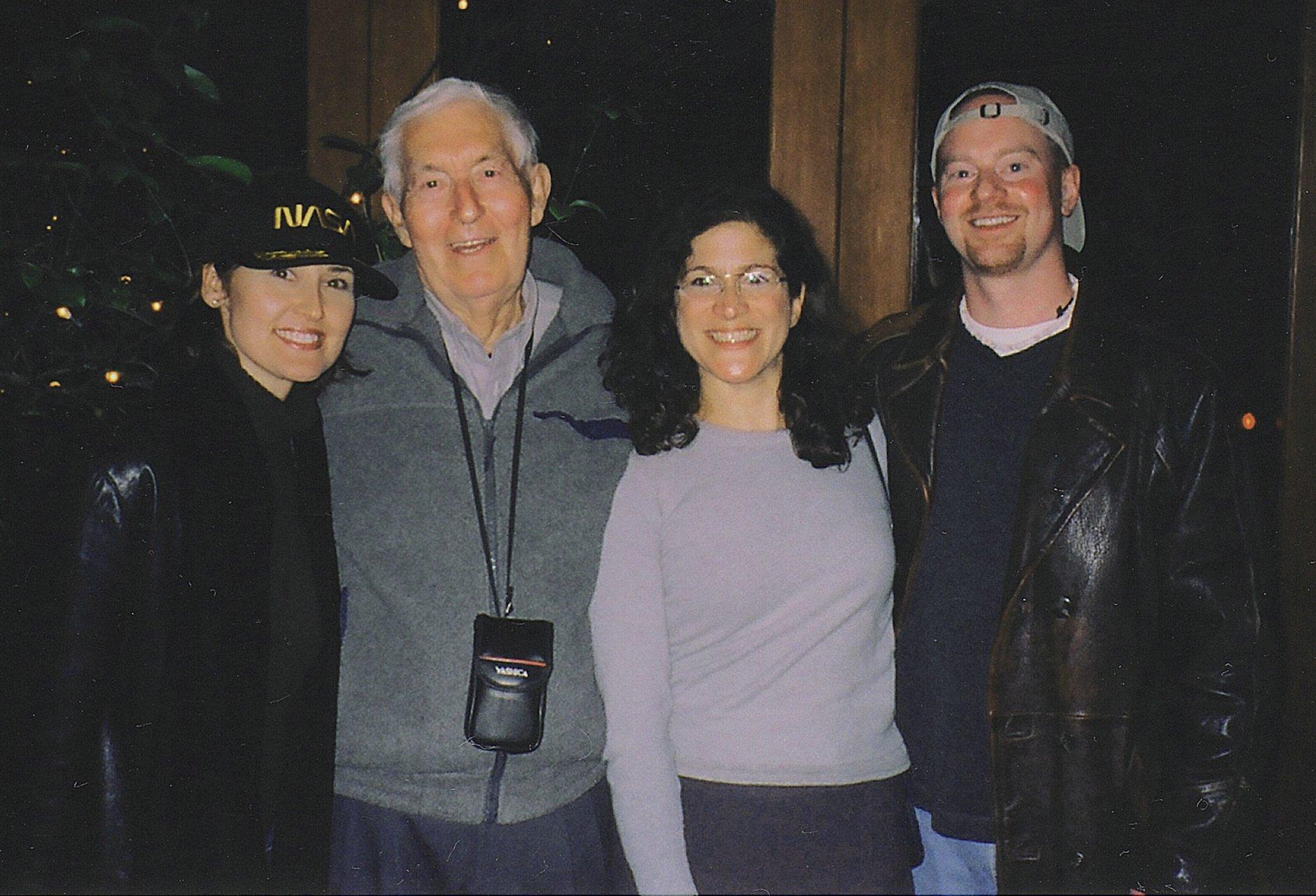 Bill con alcuni fans