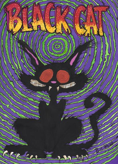 """Black Cat"" by Bill Kopp"
