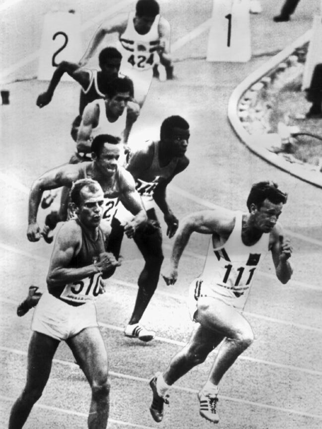 Image result for peter norman running