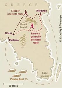 Ancient Marathon Route
