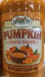 Pumpkin Spaghetti Sauce