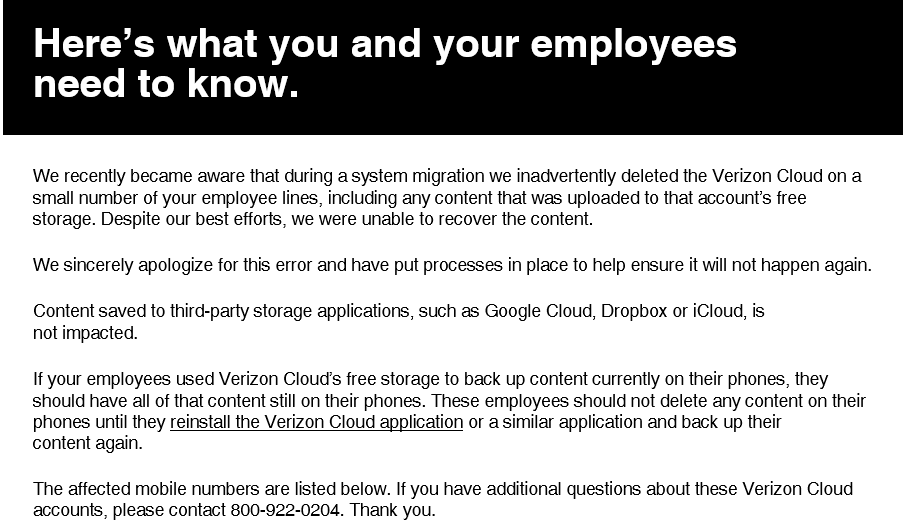 What is Verizon Cloud? Here's the scoop