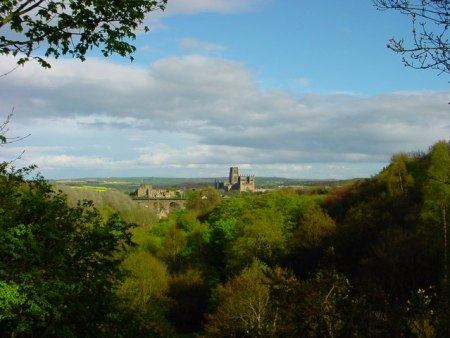 View of Durham from Flass Vale