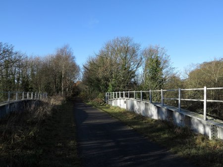 Bridge Spanning River Browney