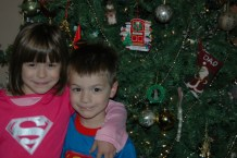 Last Photo in Front of the Christmas Tree