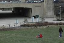 Tumbling in Grant Park