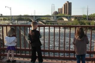 Looking At The Falls
